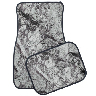 Gray Marble Look Auto Mat