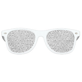 Gray Maze Retro Sunglasses