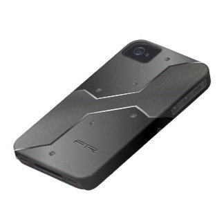 Gray Metallic Look Geometric Shapes. Case-Mate iPhone 4 Case