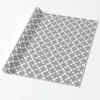 Gray Mod Ball Design @ Emporio Moffa Wrapping Paper