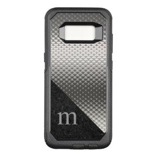 Gray Monogrammed Otterbox Samsung S8 Case