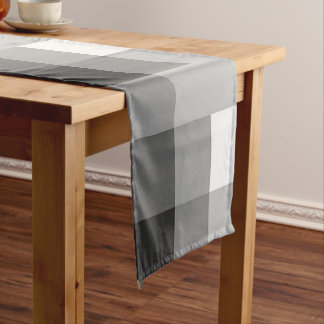 Gray Multicolor Table Runner by Janz