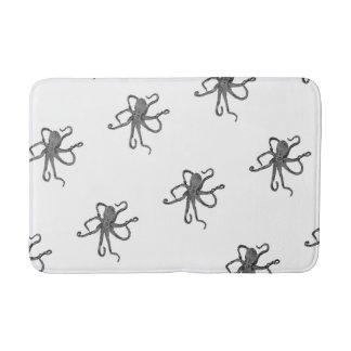 Gray Octopus Bath Mat