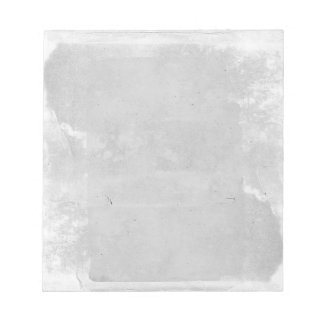 Gray Old Paper Vintage Looking Filo Notepad