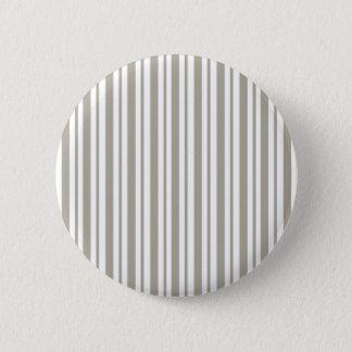 Gray Pinstripe 2 Inch Round Button