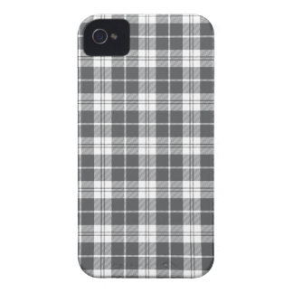 Gray Plaid iPhone4s Case