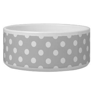 Gray Polka Dot Pattern