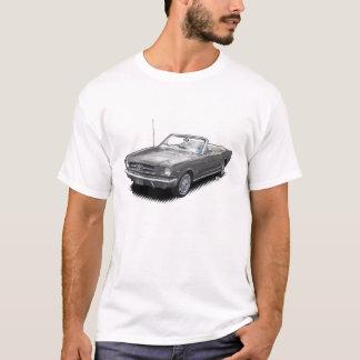 Gray Pony Car Convertible T-Shirt