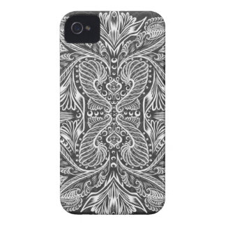 Gray, Raven of mirrors, dreams, bohemian iPhone 4 Case-Mate Cases