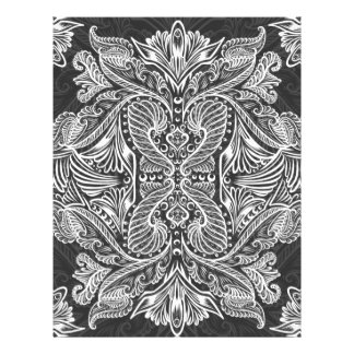 Gray, Raven of mirrors, dreams, bohemian Letterhead