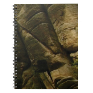 gray rocks of rumble notebook