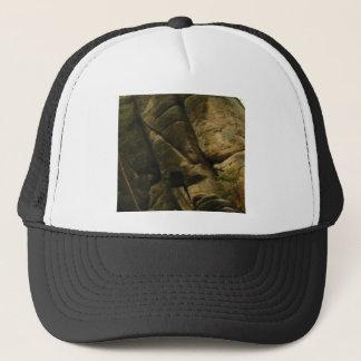 gray rocks of rumble trucker hat