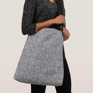 Gray Rough Concrete Texture 060 Crossbody Bag