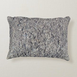 Gray Rough Concrete Texture 060 Decorative Pillow