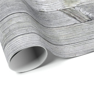gray rustic wood background wrapping paper