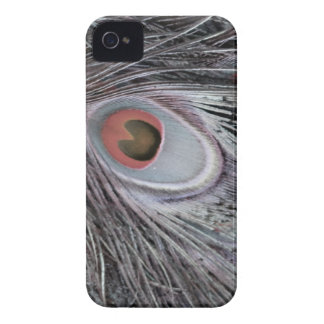 Gray Shadow Feather Case-Mate iPhone 4 Cases
