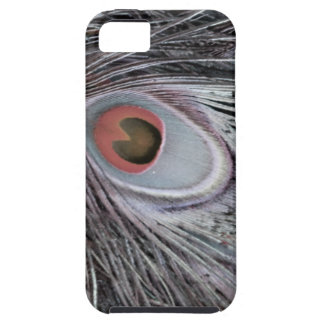 Gray Shadow Feather iPhone 5 Cover