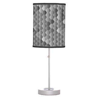 Gray Shadows Table Lamp