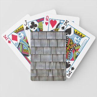 Gray Shingles Bicycle Playing Cards