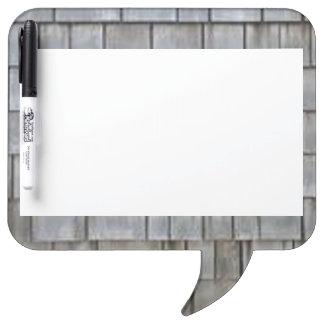 Gray Shingles Dry Erase Board