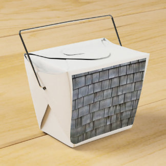 Gray Shingles Favor Box