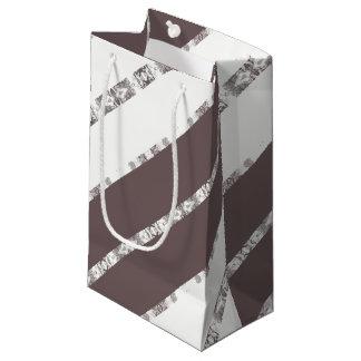 gray small gift bag