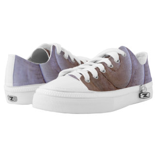 gray snail shell Low-Top sneakers