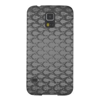 Gray snake skin retro galaxy s5 cases