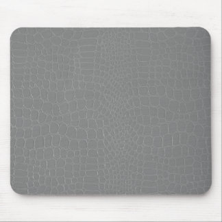Gray Snakeskin Mouse Pad