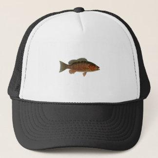 Gray Snapper Logo Trucker Hat