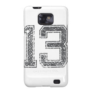 Gray Sports Jersey #13 Samsung Galaxy S2 Cover