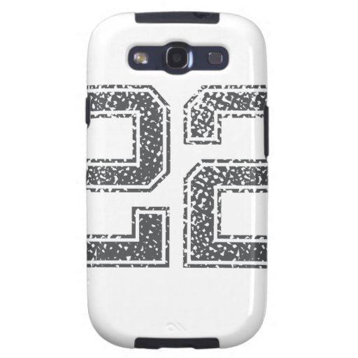 Gray Sports Jersey #22 Galaxy SIII Cover