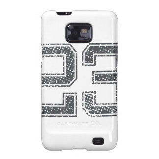 Gray Sports Jersey #23 Samsung Galaxy SII Cover
