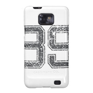 Gray Sports Jersey #39 Galaxy S2 Case