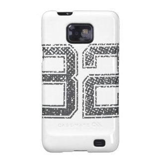 Gray Sports Jersey #82 Samsung Galaxy S2 Case