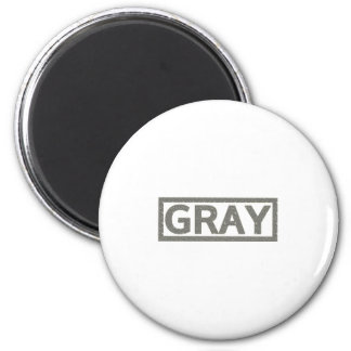 Gray Stamp Magnet