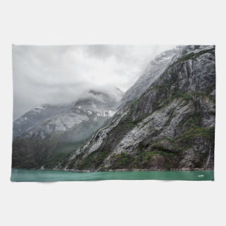 Gray Stone Mountain Kitchen Towel