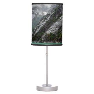 Gray Stone Mountain Lamp