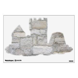 Gray Stone Wall Wall Sticker