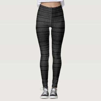 Gray Stretch Leggings