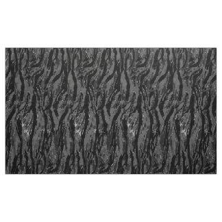 Gray Stripe Camo Fabric