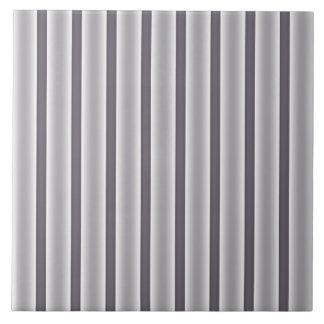 Gray Stripes Tile