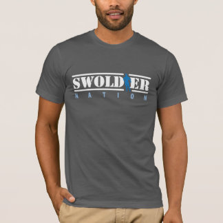 Gray Swoldier Nation T-Shirt