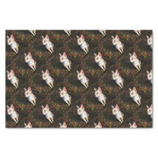 Gray Tabby Cat Tissue Paper
