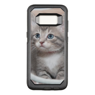 GRAY TABBY KITTEN CELL PHONE CASE