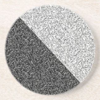 Gray texture drink coaster