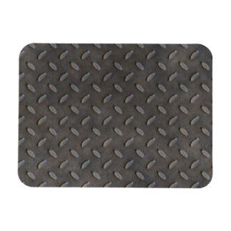 Gray Textured Industrial Metal Flexible Magnets