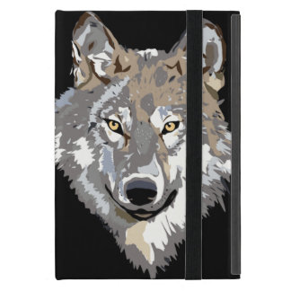 Gray Timber Wolf iPad Mini Cover