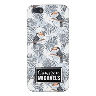 Gray Toucan | Add Your Name Case For The iPhone 5