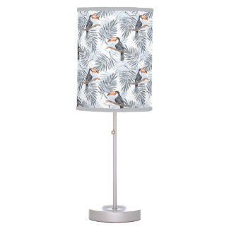 Gray Toucan Desk Lamps